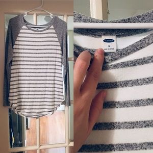 Perfect striped long sleeve sweater
